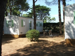 Location mobil home bois plage